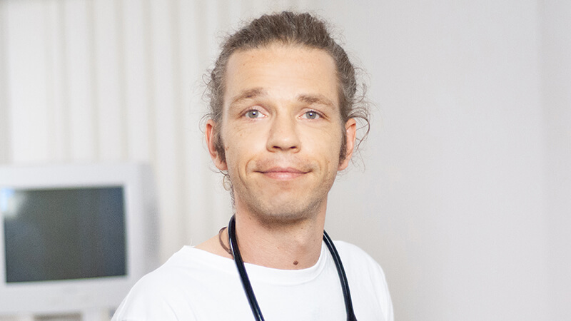 Fabian - Mitarbeiter in der Kardiologischen Gemeinschaftspraxis