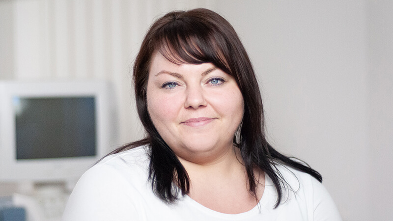 Jessika - Mitarbeiterin in der Kardiologischen Gemeinschaftspraxis