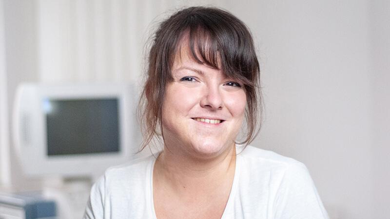 Tina - Mitarbeiterin in der Kardiologischen Gemeinschaftspraxis