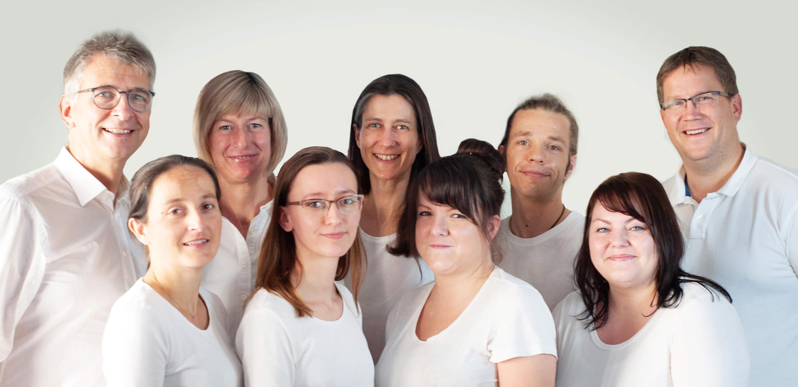 Ärzte und Assistenten in der Rostocker Facharztpraxis für Kardiologie