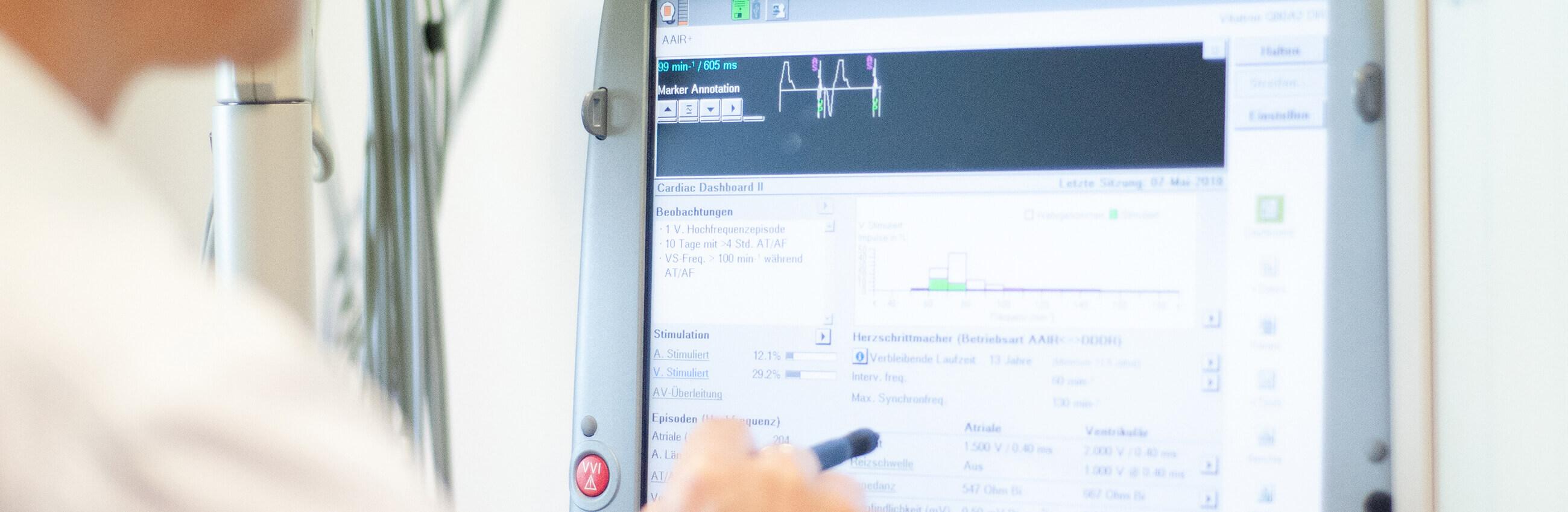 Digitale Überwachung herzkranker Patienten durch Telemedizin
