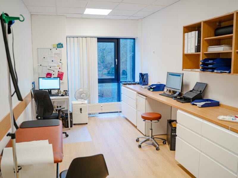 Komfortables Untersuchungszimmer Der Kardiologischen Praxis